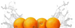 four oranges