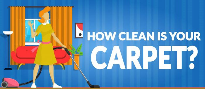How clean is your carpet?