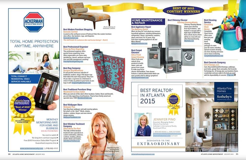 CFC home improvement magazine